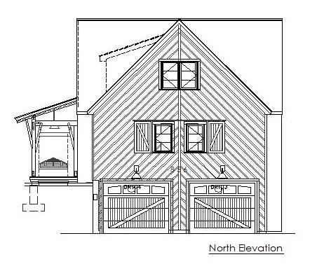 D-North Elevation